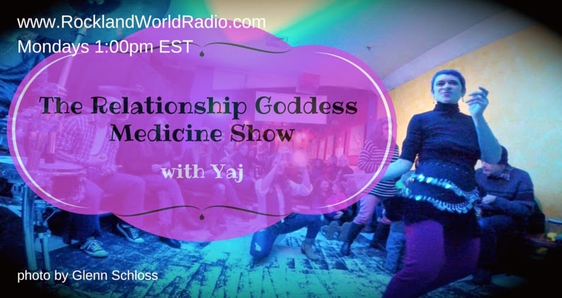 The Relationship Goddess Medicine Show Graphic-1